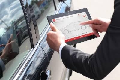 Проверка автомобиля на передающее устройство